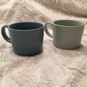 Crate & Barrel mugs